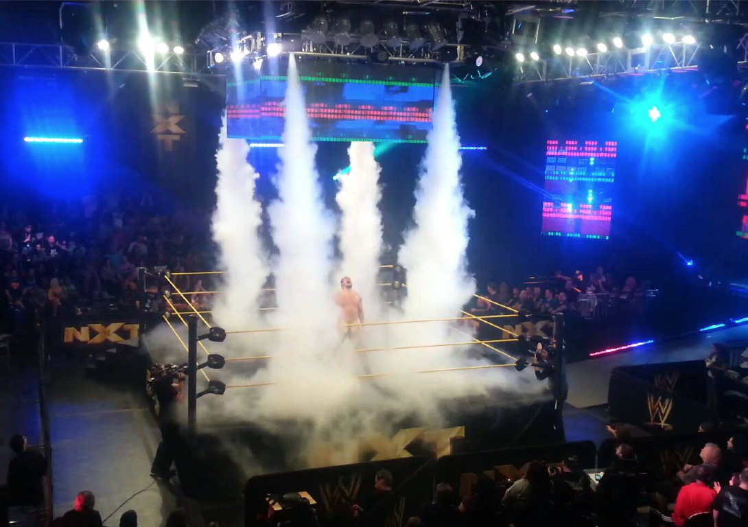 cryo Fx co2 jets at WWE