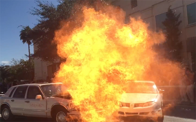 special effects hollywood car explosion FX Florida